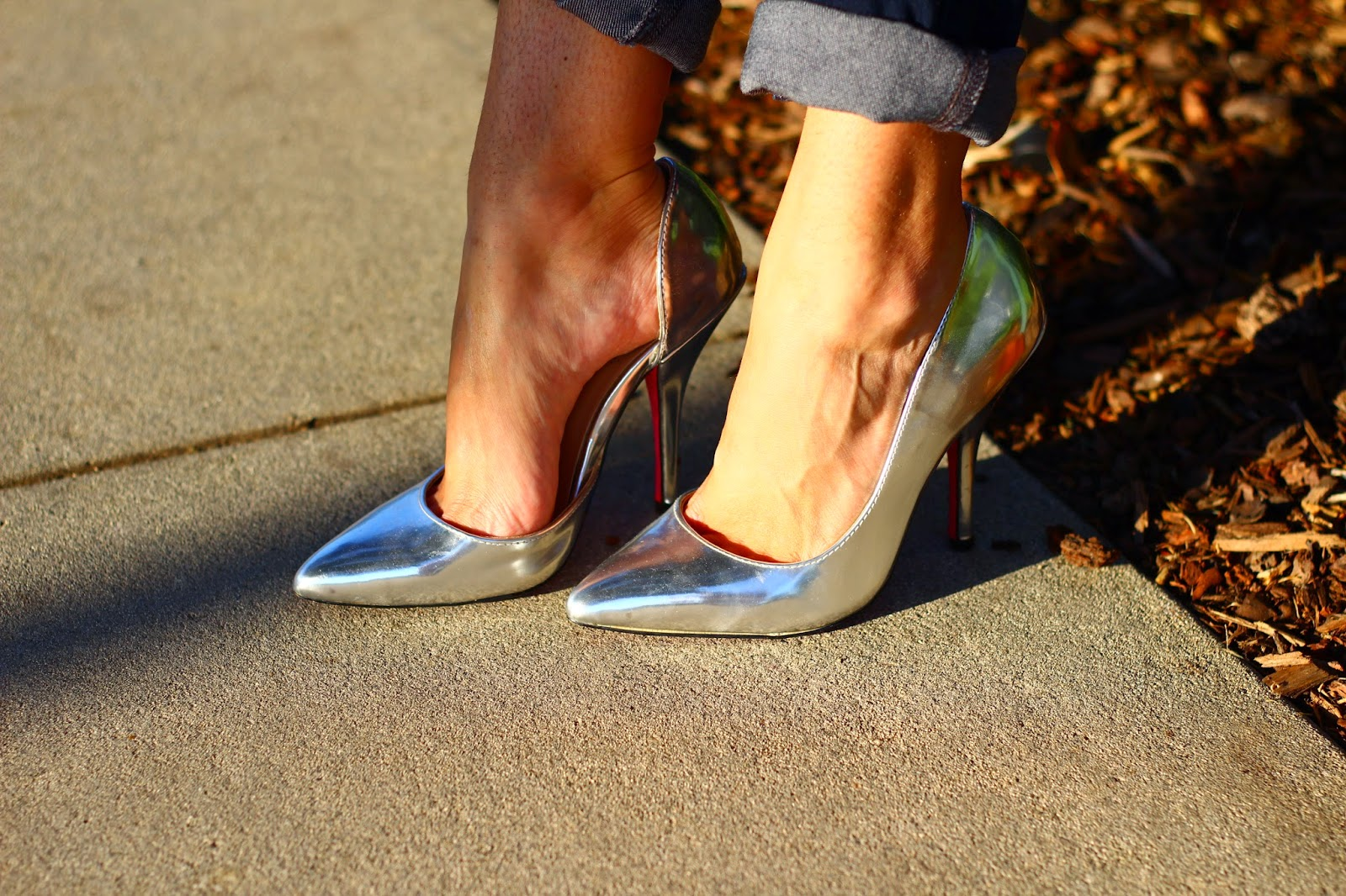 Silver Pump, Metallic, Shoedazzle