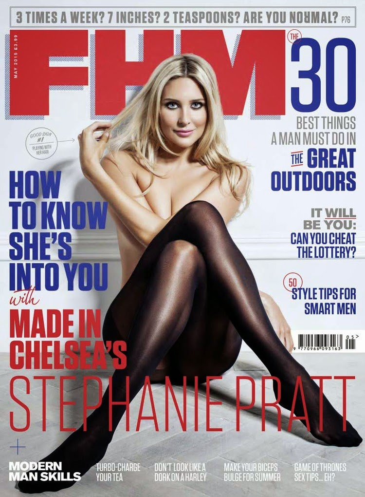 Stephanie Pratt - FHM UK, May 2015