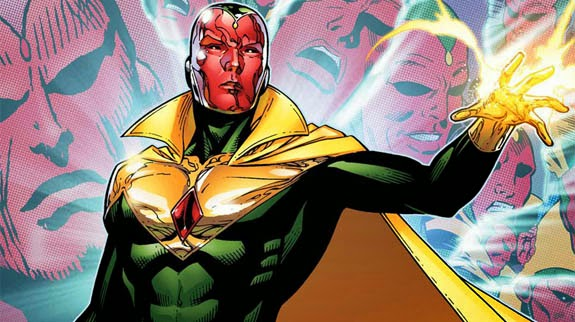 vision,marvel comics