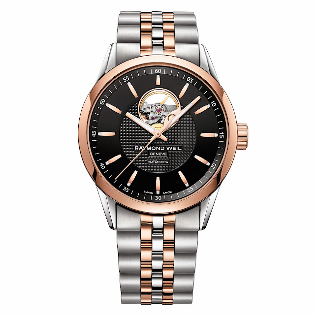 Raymond Weil Freelancer Visible Balance Wheel Watch