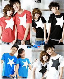 BigStar (putih,merah,hitam,biru) , toko online baju