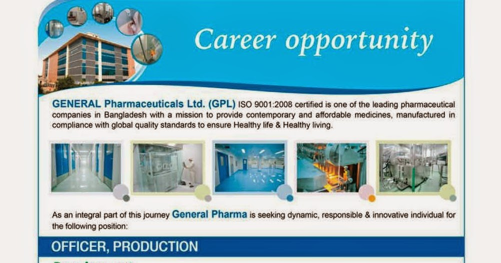 Officer, Quality Control - Current Pharmaceutical Jobs