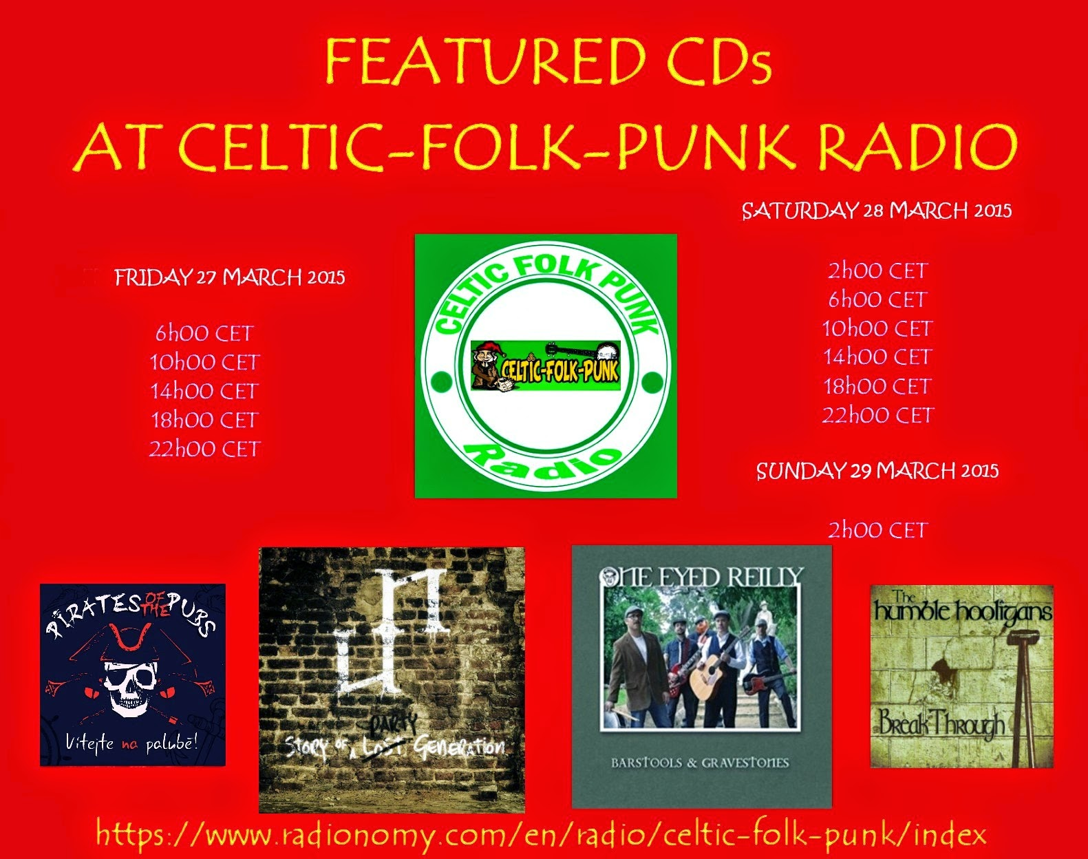 FEATURED ALBUMS AT CELTIC-FOLK-PUNK RADIO (27-28 MARCH ...