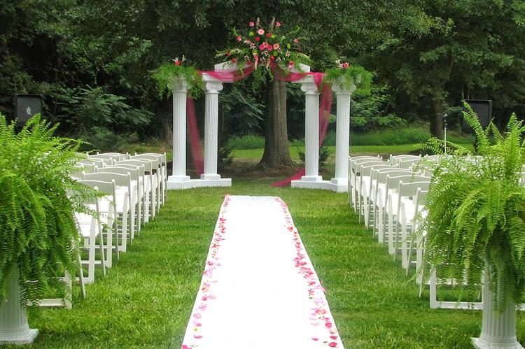 Inspirasi garden wedding