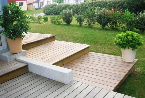 jardins d co terrasse en garapa faites entrer la lumi re. Black Bedroom Furniture Sets. Home Design Ideas
