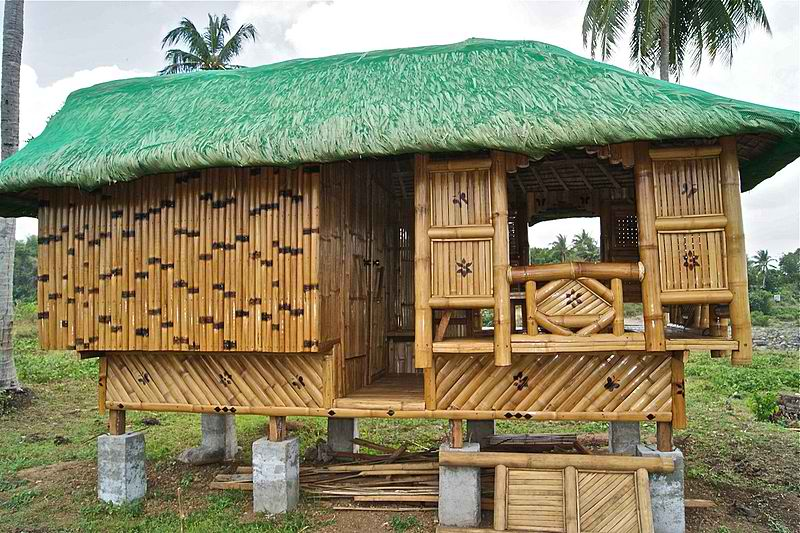 Thatched Roof House in the Philippines