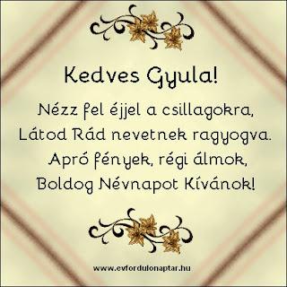 Április 12 - Gyula