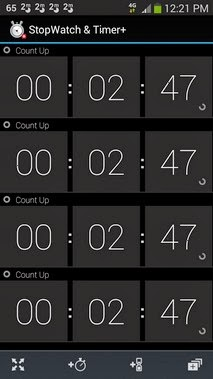 StopWatch & Timer+ android apk - Screenshoot