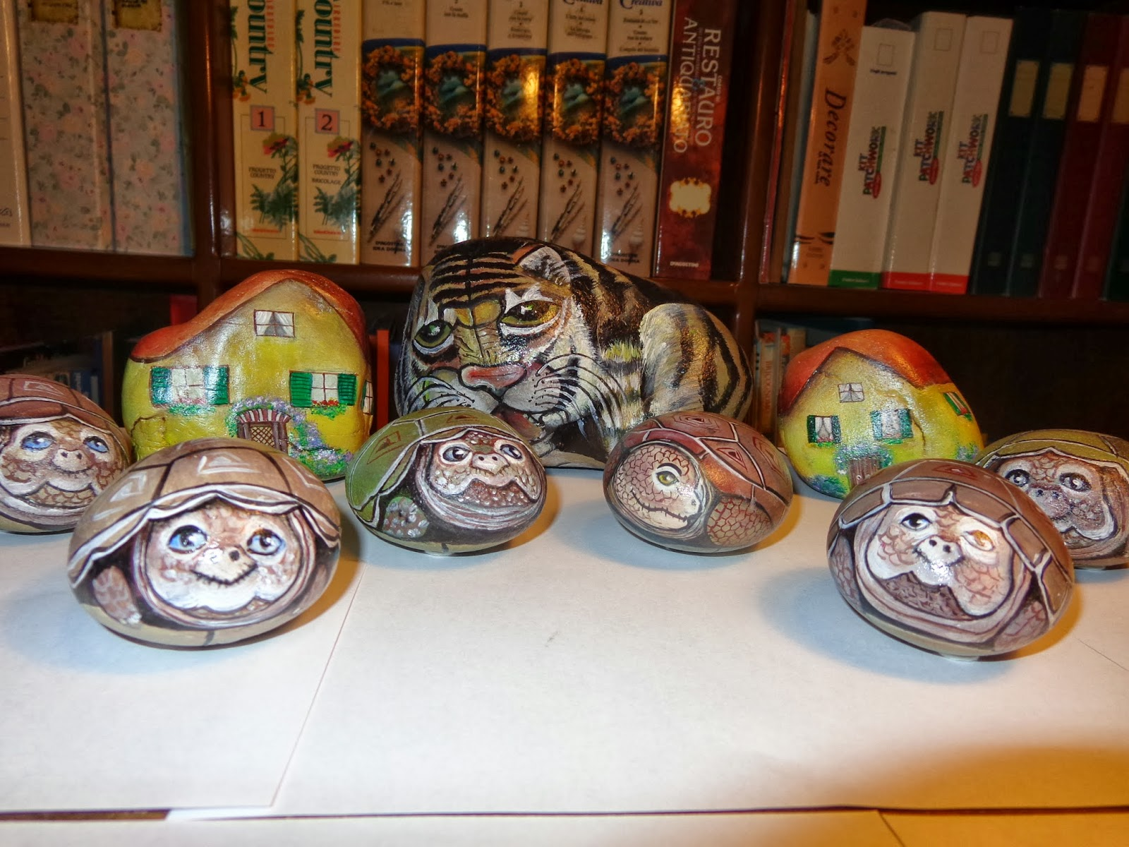 Crea e impara sassi dipinti for Sassi per tartarughe