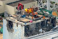 Fukushima Daiichi Nuclear power plant reactor bulding number 4