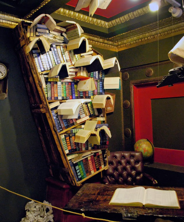 The Last Bookstore and the Spring Arts Collective in Downtown Los Angeles, California   Em Then Now When