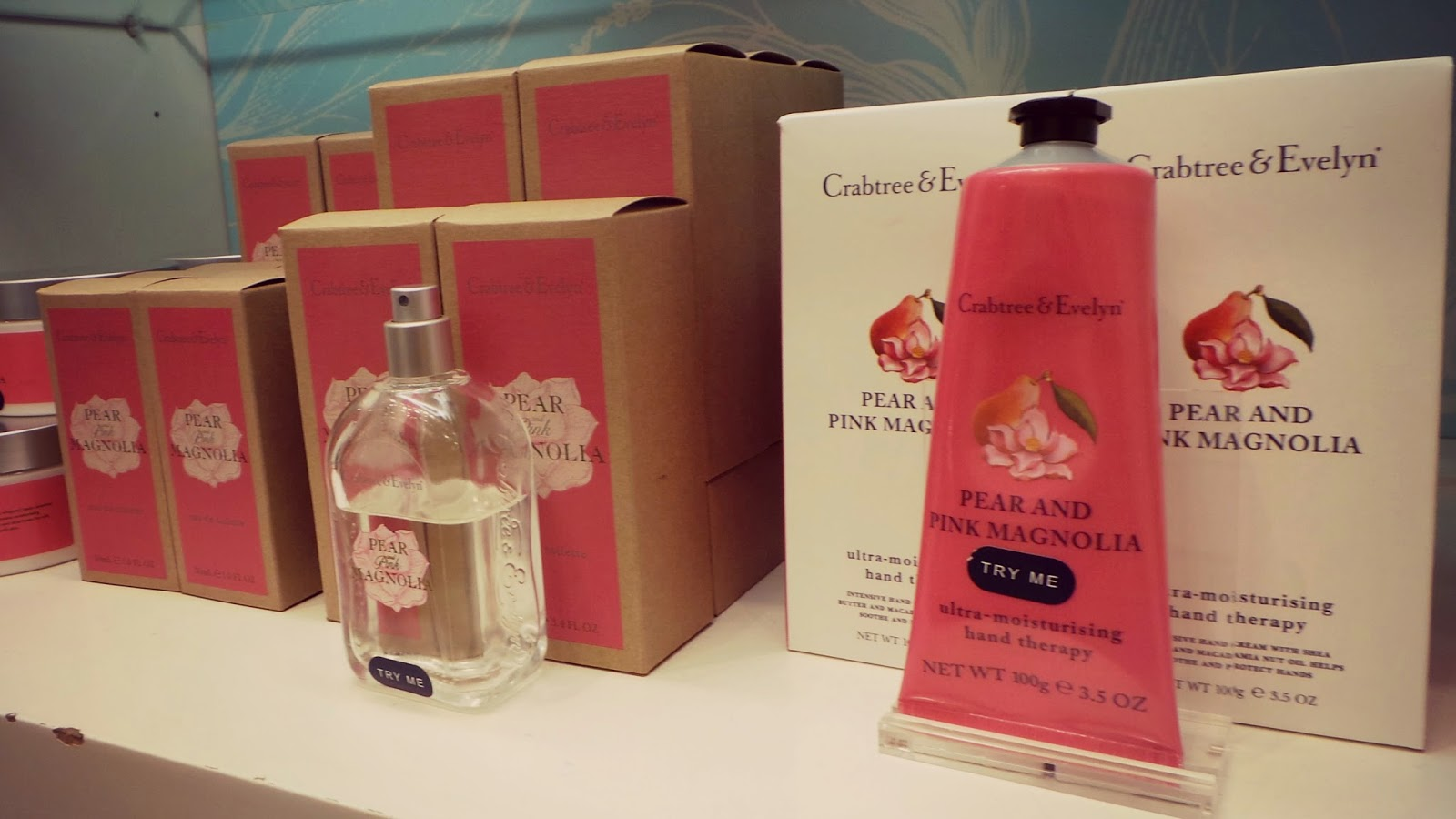 Crabtree and Evelyn Pink
