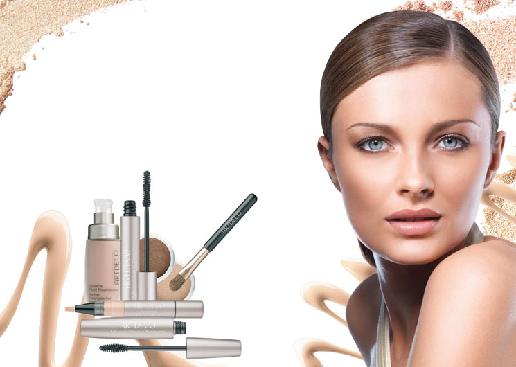 Beautiful Natural Beauty Women Mineral Makeup Photo Wallpaper