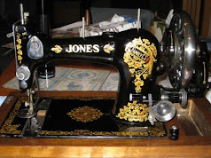 Vintage Jones Family CS hand crank
