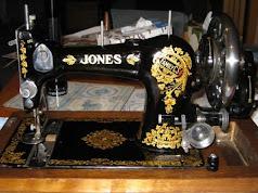 Vintage Jones Family CS hand crank