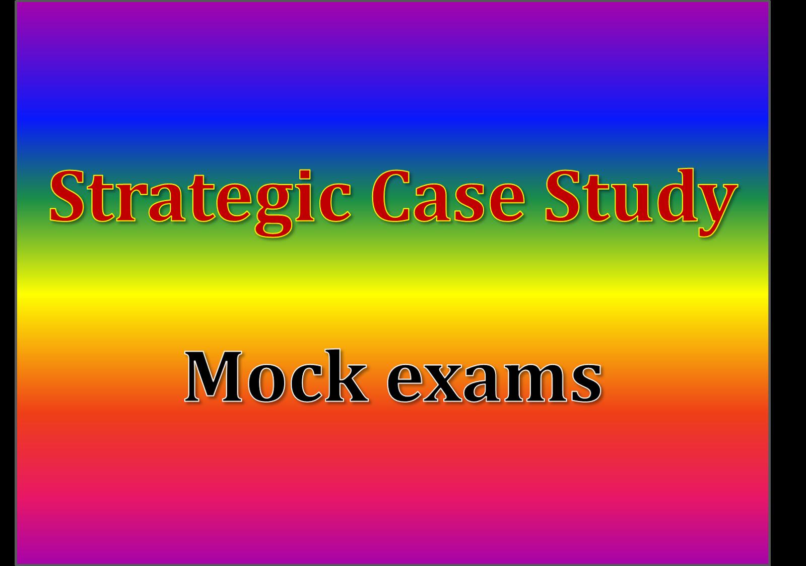 Strategic case study