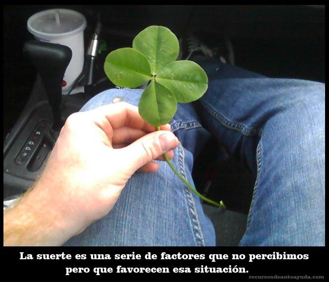 Descubre Cómo atraer la buena suerte.