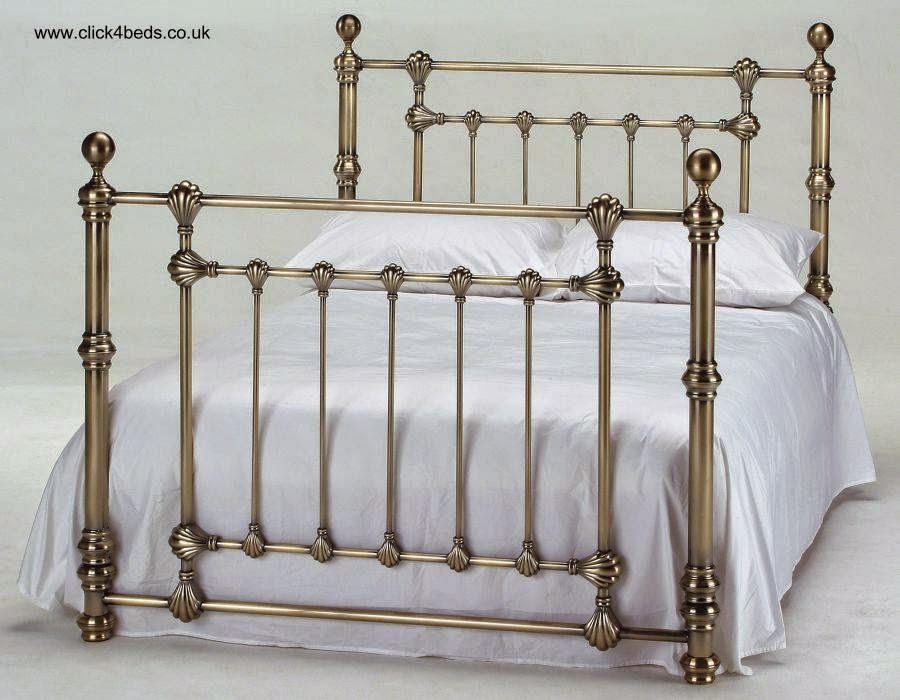 Bonito Cabeceros De Latón Para Muebles De Camas King Size Galería ...