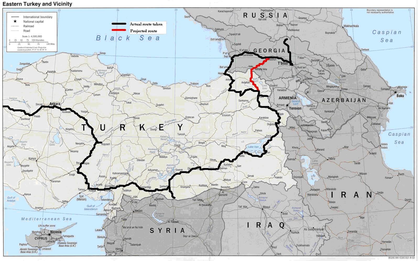 Uncle Travelling Matt Latvia Georgia And Turkey Pt Tbilisi - Georgia kazbegi map