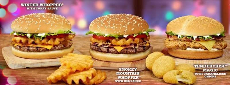 Around the World: Burger King Celebrates with Christmas Menus ...