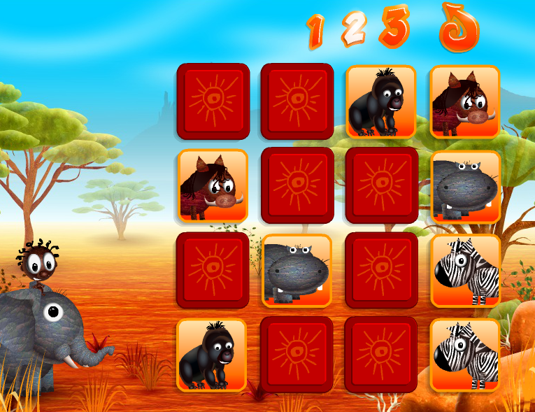 http://tibaostudio.blogspot.fr/2014/01/animals-memory-game.html