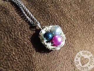 DIY Mother Bird Necklace