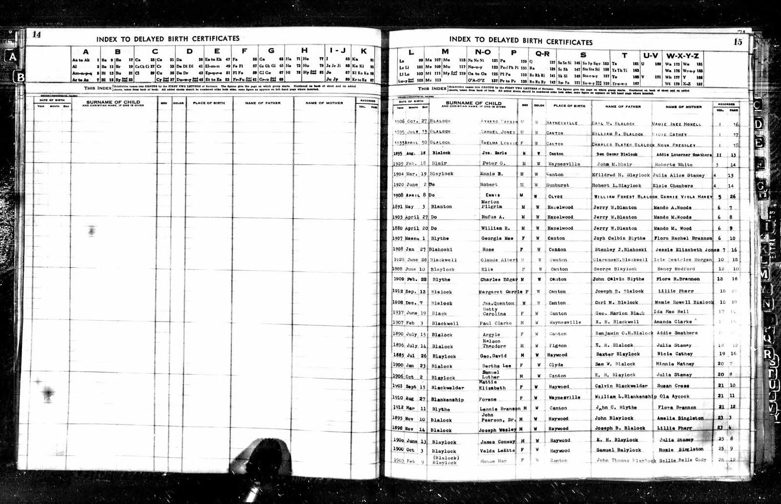 Dred blalock family history etheldred hester blalock 1869 1941 north carolina birth index 1800 2000 xflitez Gallery