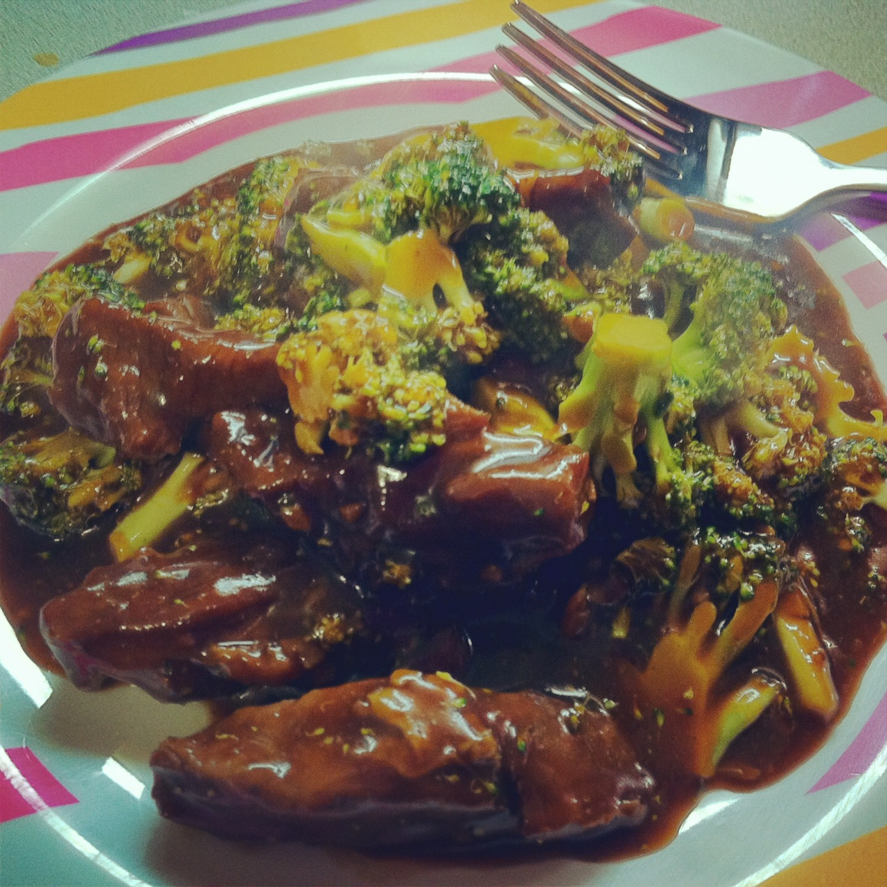 unBearablyGood: Slow Cooker Mongolian Beef & Broccoli!