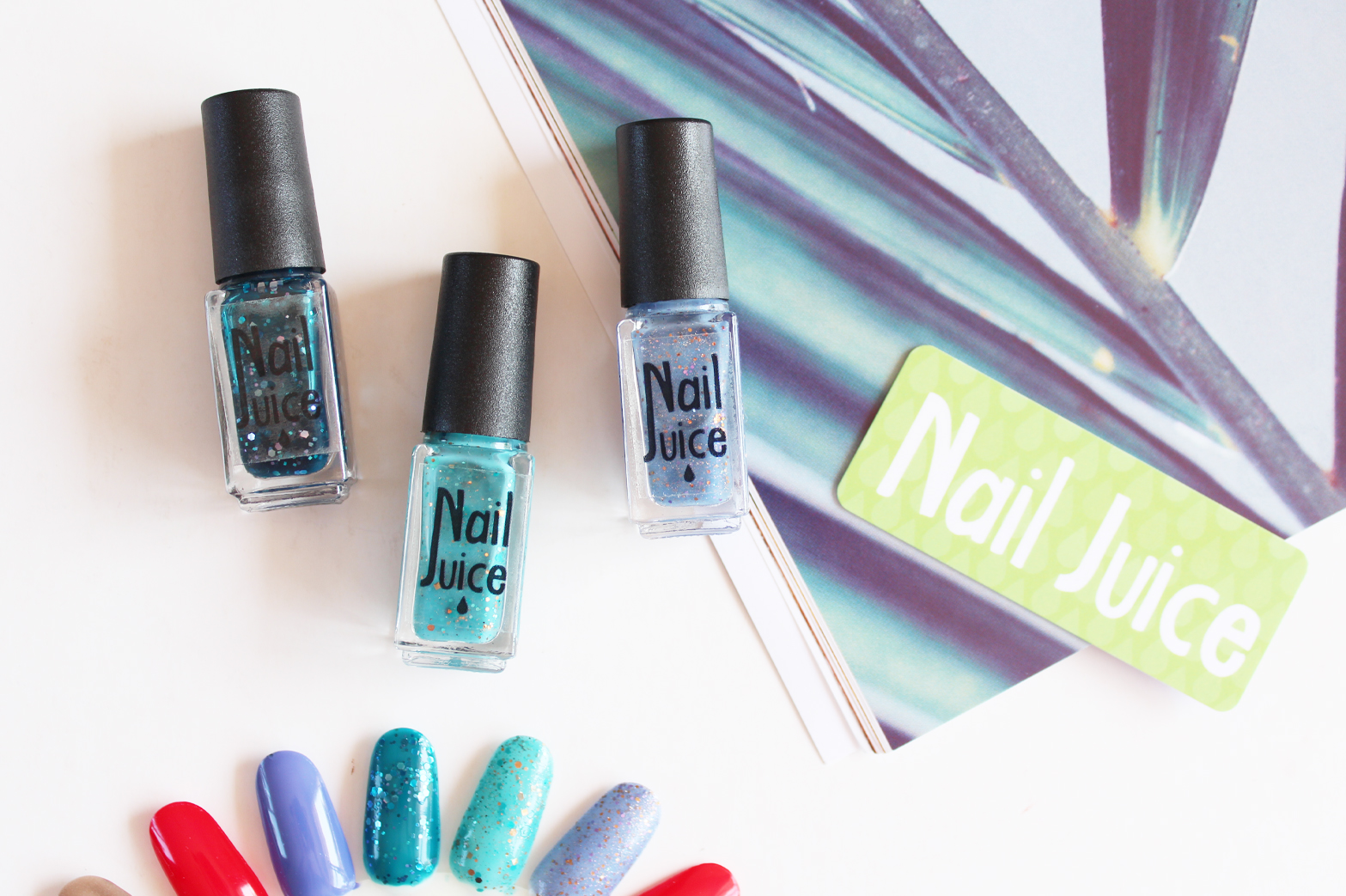 NAIL JUICE | Indie Nail Polishes - Review + Swatches - CassandraMyee