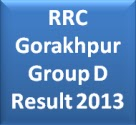 RRC Gorakhpur Group D