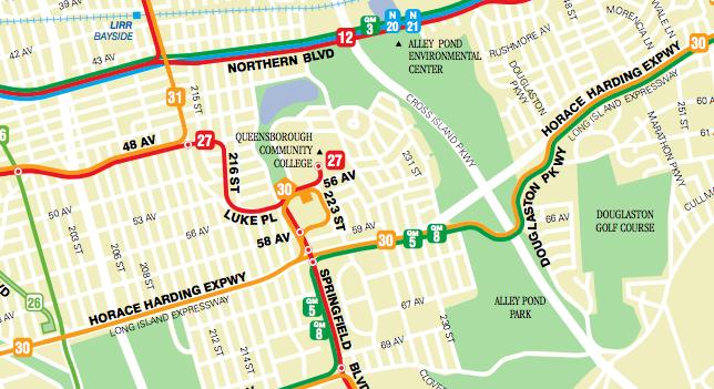 Mta Bus Map In Queens My Blog - Queens bus map