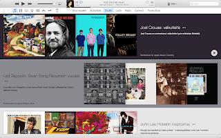Apple Musicin Sinulle -näkymä