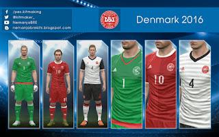 PES 2016 Denmark 2016 GDB by Nemanja