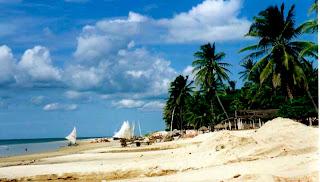Playas y lagunas paradisiacas en Brasil