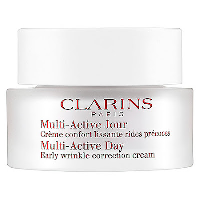 Clarins, Clarins moisturizer, Clarins Multi-Active Day Early Wrinkle Correction Cream, skin, skincare, skin care, moisturizer, day cream, face lotion