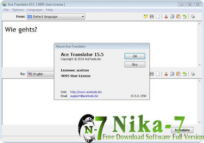 Ace Translator 15.5 Final + Key
