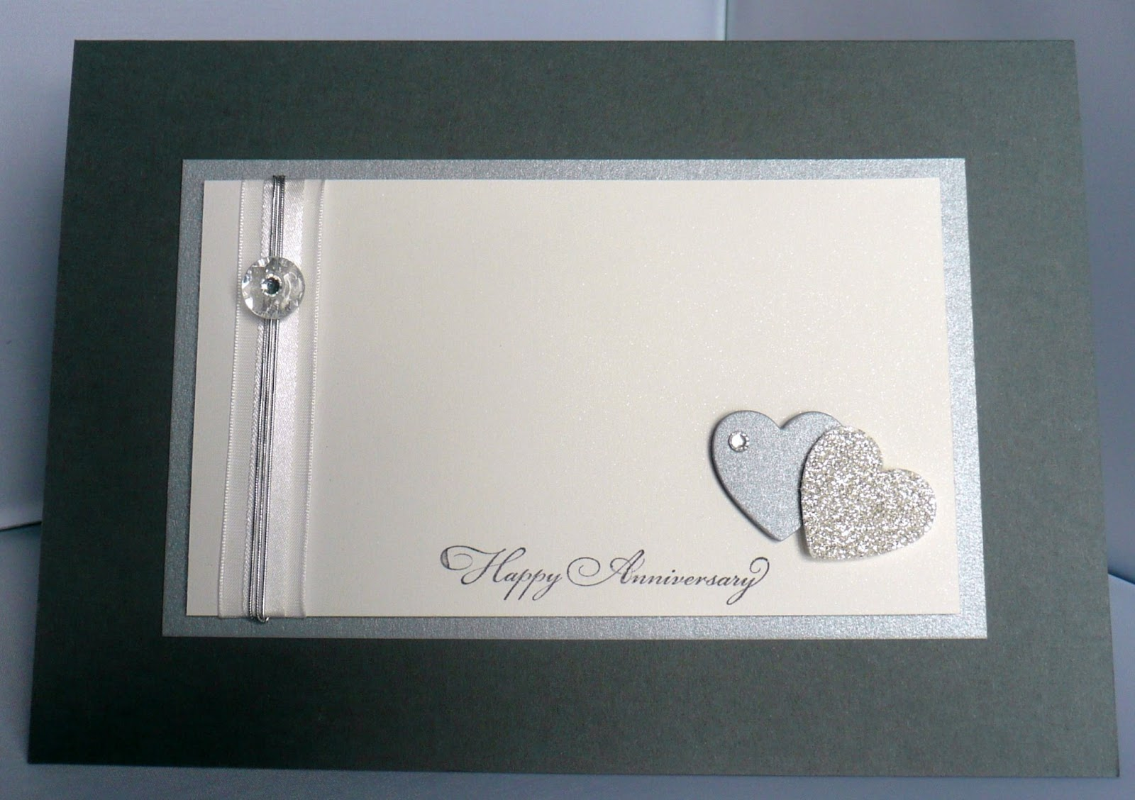 Card magic 25th wedding anniversary card 25th wedding anniversary card kristyandbryce Images