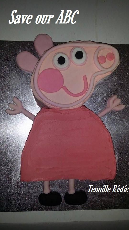 Peppa Pig Cake Save our ABC