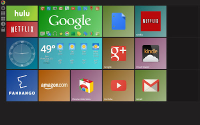windows 8 metro look to google chrome
