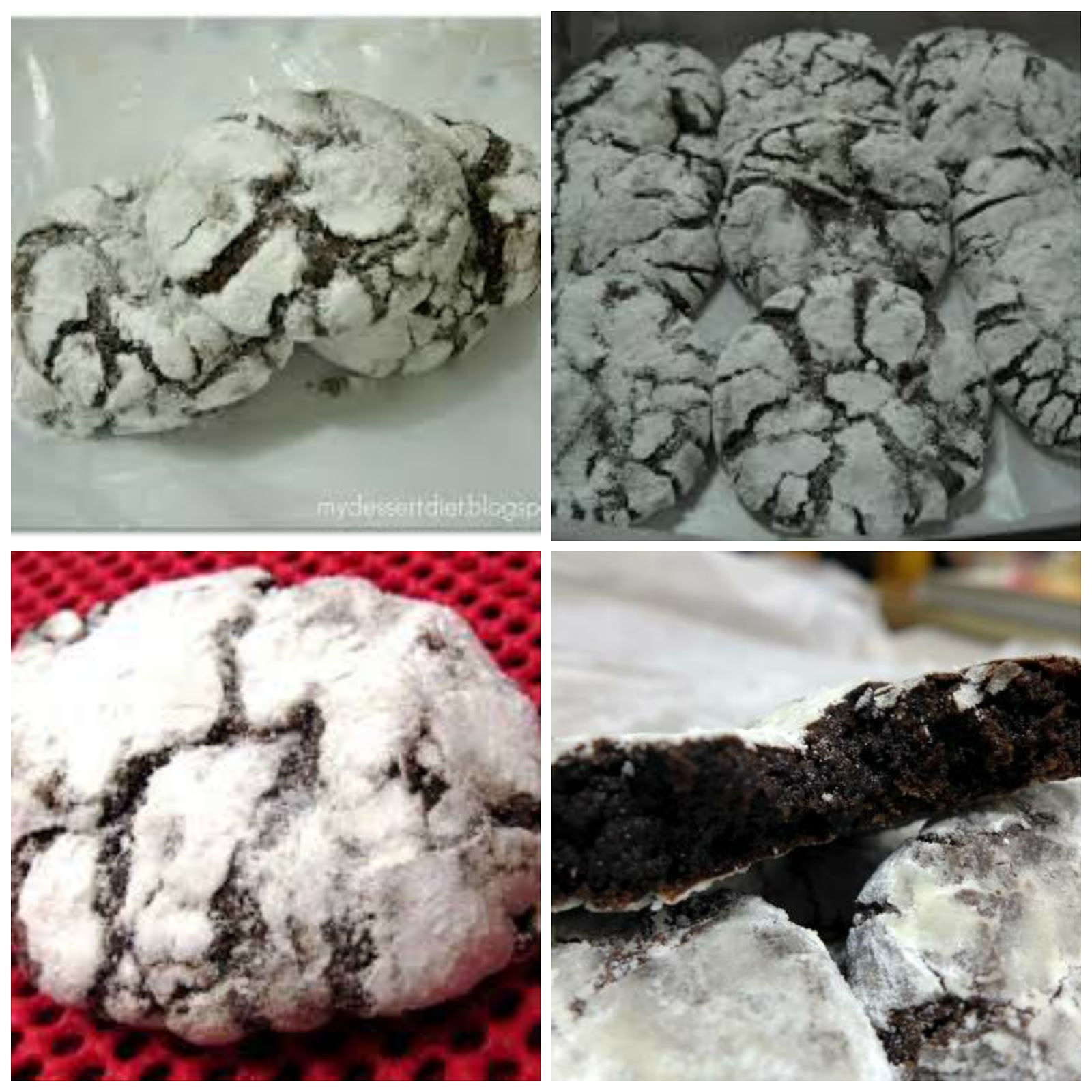 Heart of Mary: Chocolate crinkles