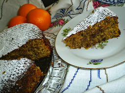 CLEMENTINE CHOCO NUT flourless torte cake