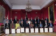 Maestros Latinoamericanos condecorados en Madrid