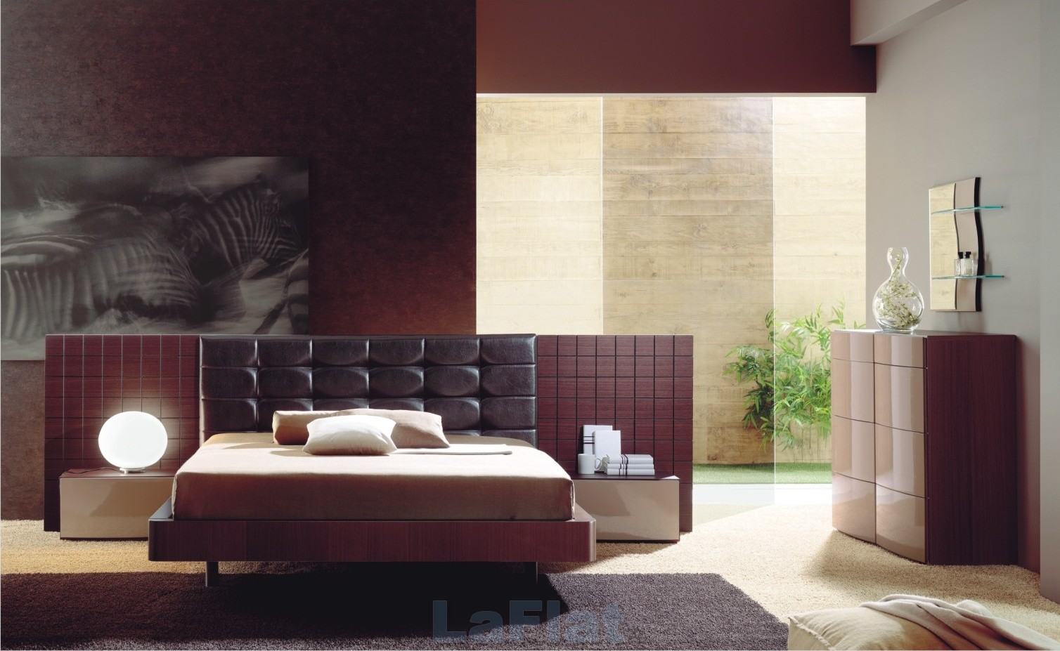 Modern bedroom decorating ideas decorating ideas for Modern home furnishings