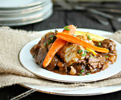Moroccan Spiced Beef with Herb Parmesan Dumplings