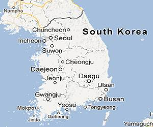 South_Korea_google_map
