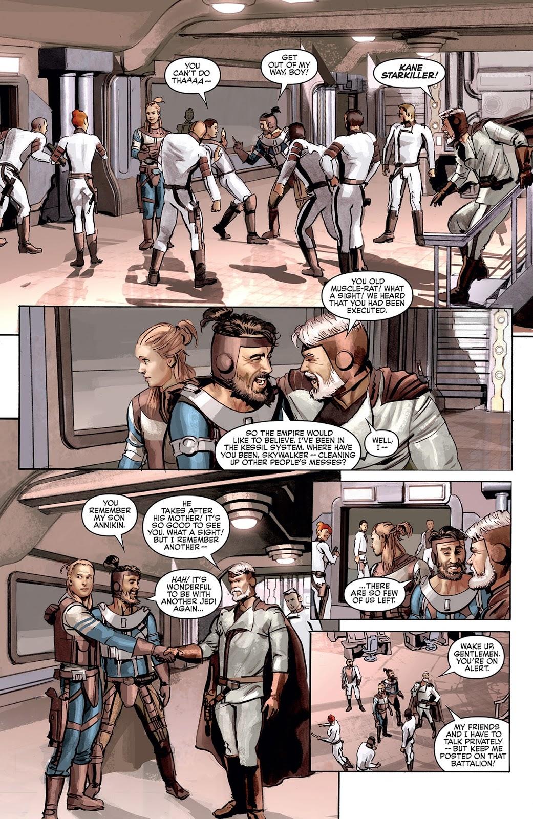 The star wars il nuovo fumetto creato da lucas