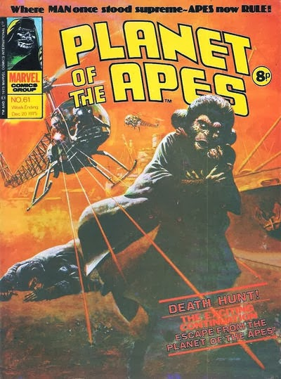 Marvel UK Planet of the Apes #61