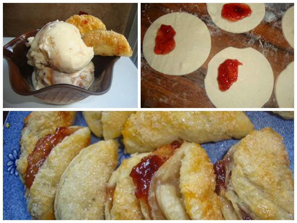 Empanadas de Hojaldre dulces