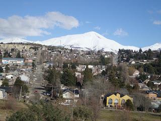 Passeio de trenzinho turístico em Bariloche