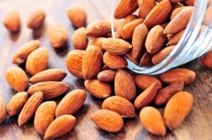 Sumber kalsium kacang almond